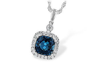 G207-73912: NECK 1.63 LONDON BLUE TOPAZ 1.80 TGW
