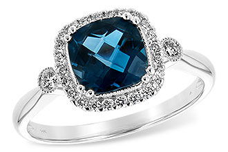 L207-73930: LDS RG 1.62 LONDON BLUE TOPAZ 1.78 TGW